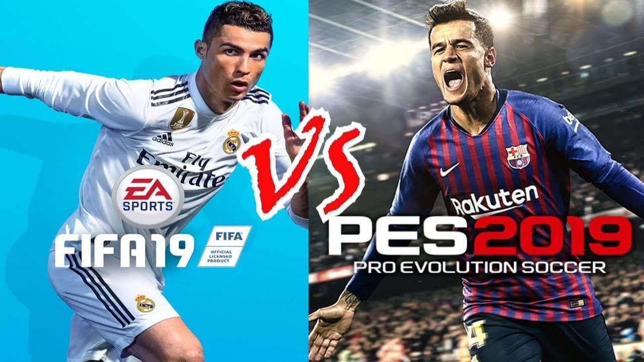 FIFA 19 VS PES 19 – PLAYSTATION 4