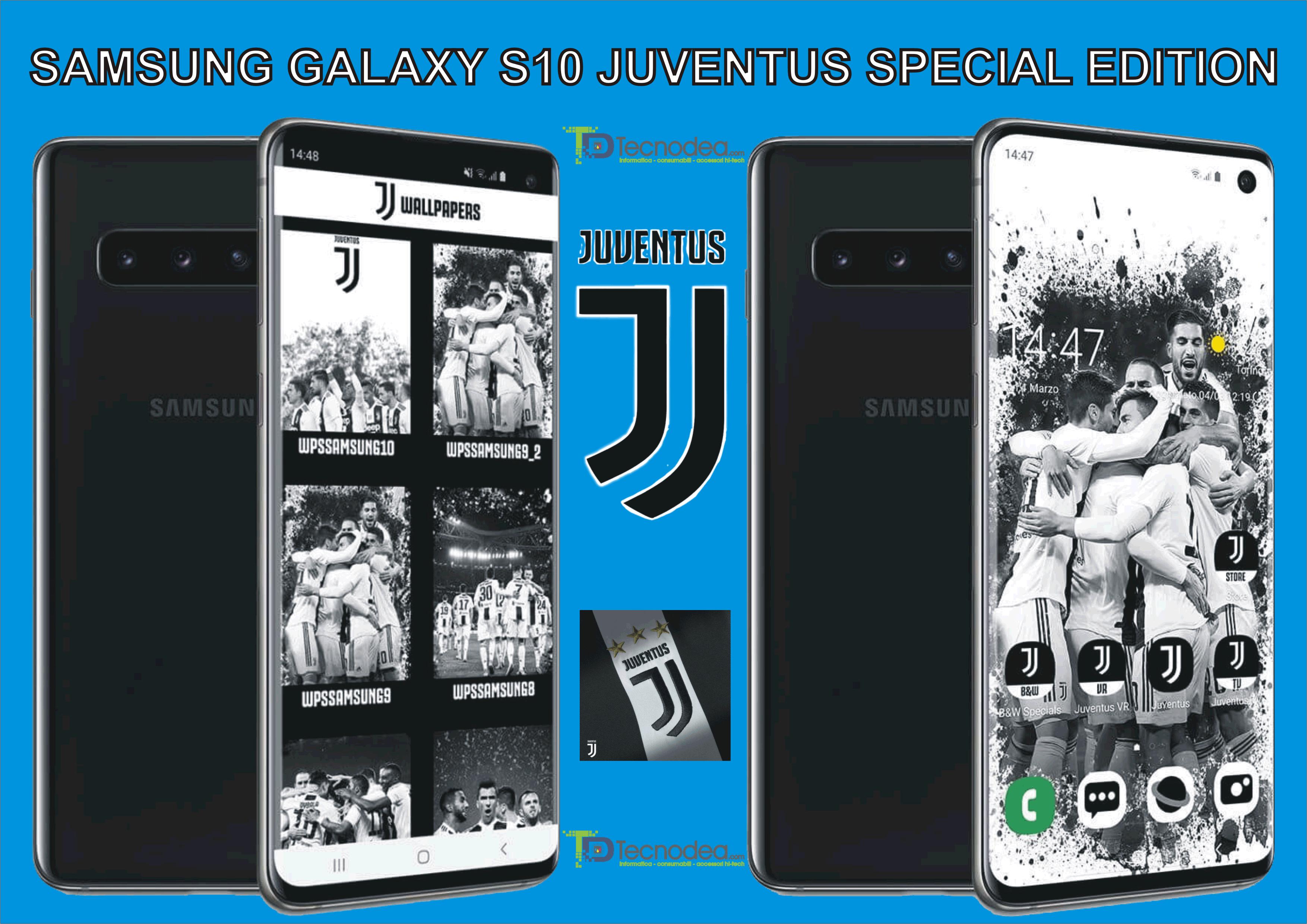 Samsung Galaxy S10 Juventus Special Edition.